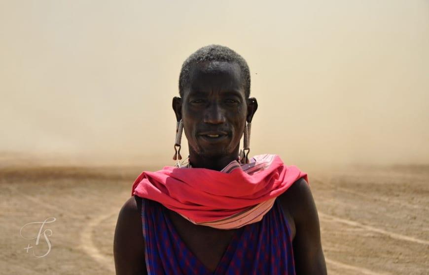 Maasai warrior. Shompole Conservancy in the Great Rift Valley, Kenya © Travel+Style