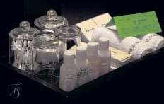 Bathroom  Amenities.Naumi Hotel, Singapore. ©Travel+Style