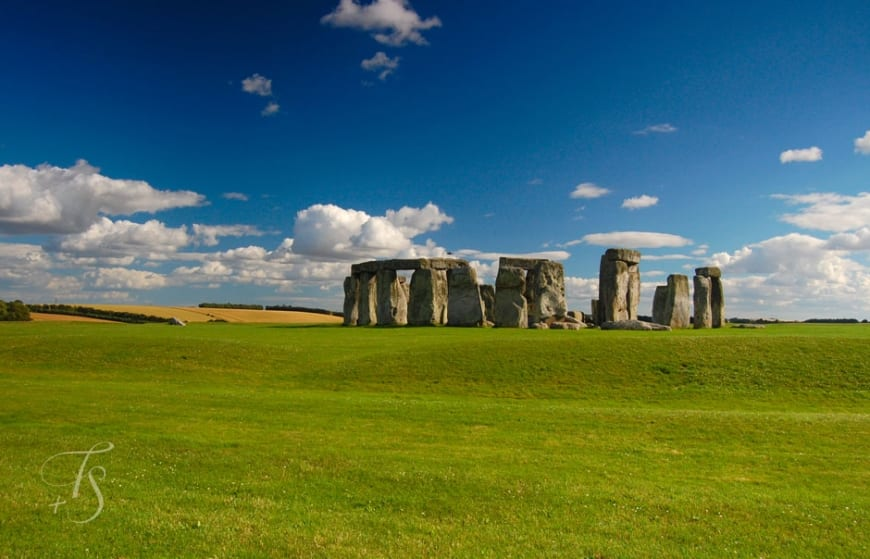 Stonehenge, a huge prehistoric monument © Travel+Style