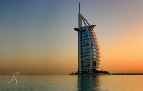 The iconic Burj-Al-Arab, Dubai © Travel+Style