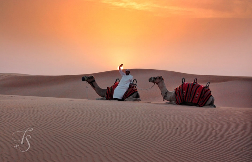 Desert, Dubai © Travel+Style
