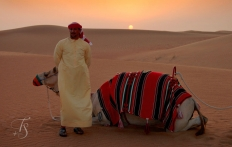 Dubai Desert Safari © Travel+Style