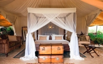 A standard Tent at Cottar's photo by Brent Stirton © Copyright Cottar's