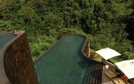 Main Pool. © Ubud Hanging Gardens