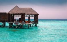 Conrad Maldives Rangali Island. © Travel+Style