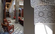 Riad Fès © Travel+Style