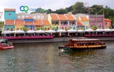 Clarke Quay. Singapore. © Travel+Style