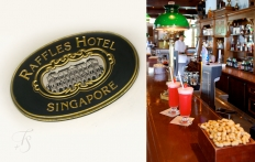 Raffles Hotel, Long Bar. Singapore. © Travel+Style