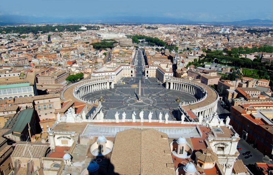 Vatican City, Rome © Travel+Style