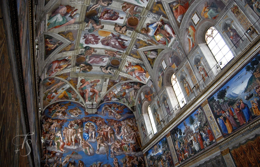 The Sistine Chapel in Vatican © Travel+Style