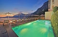 The Pool at night © Casa Angelina Lifestyle Hotel Amalfi