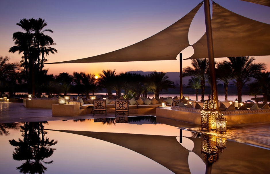 Hilton Luxor Resort & Spa Sunset Terrace ©  Hilton Hotels & Resorts