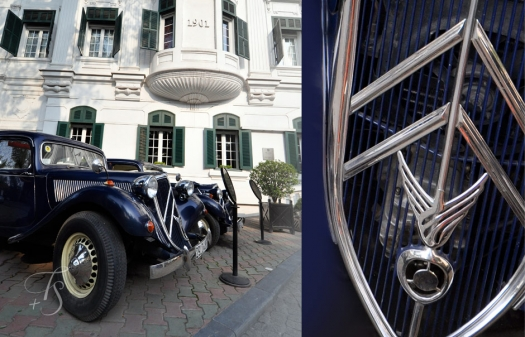 Citroen Traction, Sofitel Legend Metropole, Hanoi © Travel+Style