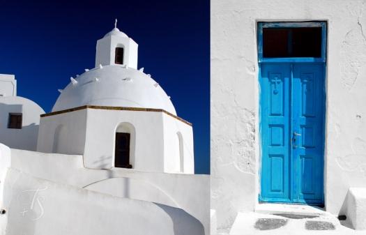Fira Town. Santorini, Greece. © Travel+Style