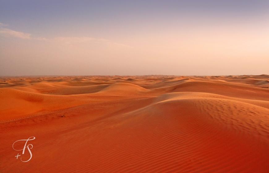 In the Oman Desert. © Travel+Style