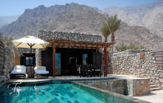 Pool Villa. Six Senses Zighy Bay, Oman. © Travel+Style
