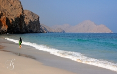 The Beach. Six Senses Zighy Bay, Oman