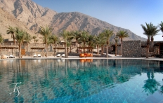 Main pool. Six Senses Zighy Bay, Oman. © Travel+Style