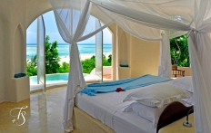 Pavilion Bedroom. Kilindi Zanzibar. © Travel+Style