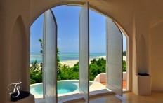 View from Pavillion nr 9. Kilindi Zanzibar. © Travel+Style