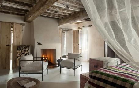 Garden Suite. Hotel Monteverdi, Tuscany. © Monteverdi