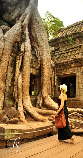 Ta Prohm, Siem Reap. Cambodia. ©Travel+Style