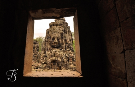 Bayon Temple, Siem Reap. Cambodia. ©Travel+Style