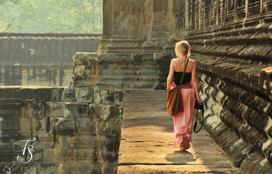 Sunrise at Angkor Wat, Cambodia. ©Travel+Style
