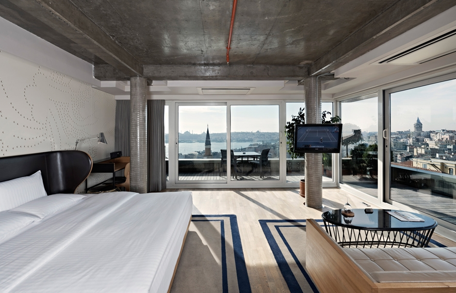 Penthouse. Witt Istanbul Hotel. © Witt Istanbul Hotel