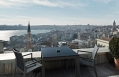 View from the Superior King Panoramic with Terrace room. © Witt Istanbul Hotel