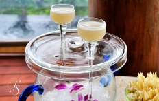 Welcome drinks. Four Seasons Resort Koh Samui. © Travel+Style