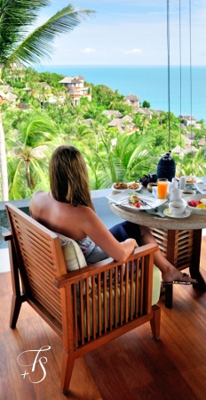 Breakfast. Four Seasons Resort Koh Samui. © Travel+Style