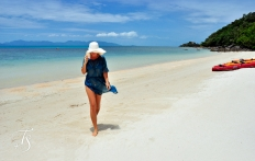 The Beach. Four Seasons Resort Koh Samui. © Travel+Style