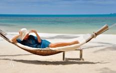 On the Beach, Four Seasons Resort Koh Samui. © Travel+Style