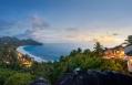 Exterior At Twilight. Banyan Tree Seychelles. © Banyan Tree Hotels & Resorts