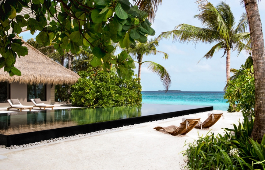 Cheval Blanc Randheli, Maldives. Travel+Style