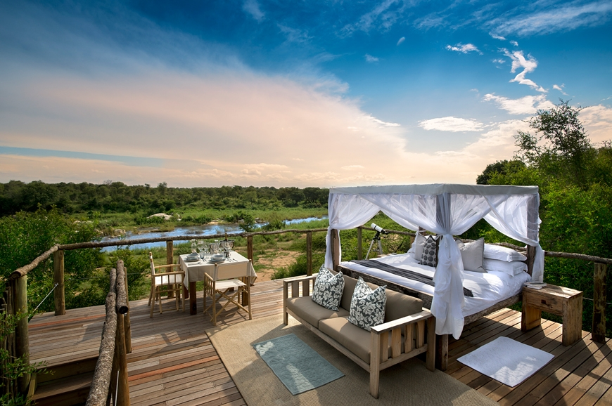 The Tinyeleti Treehouse. © Lion Sands Private Game Reserve