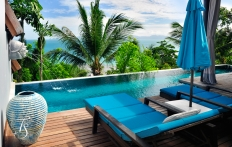 View from villa 403, Four Seasons Resort Koh Samui. © Travel+Style
