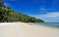 The Beach,  Four Seasons Resort Koh Samui. © Travel+Style