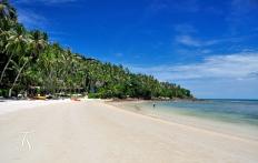The Beach,  Four Seasons Resort Koh Samui. © Travel+Style