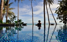 Infinity Pool, Four Seasons Resort Koh Samui. © Travel+Style