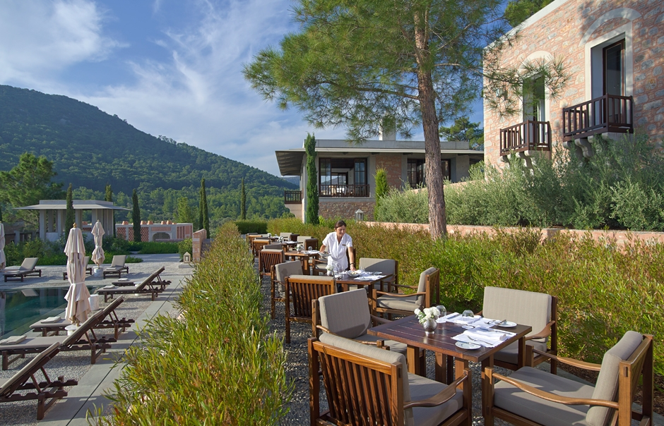 Amanruya, Bodrum Peninsula, Turkey. Luxury Hotel Review by TravelPlusStyle © Aman Resorts