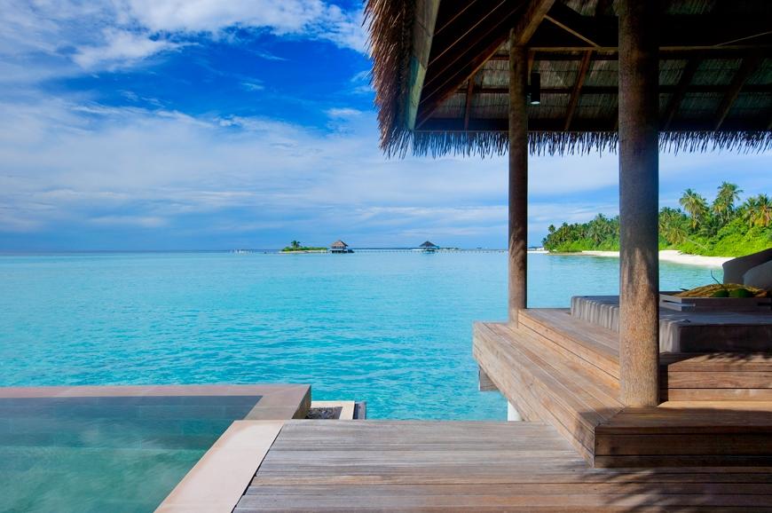 Water Villa pool. TravelPlusStyle.com