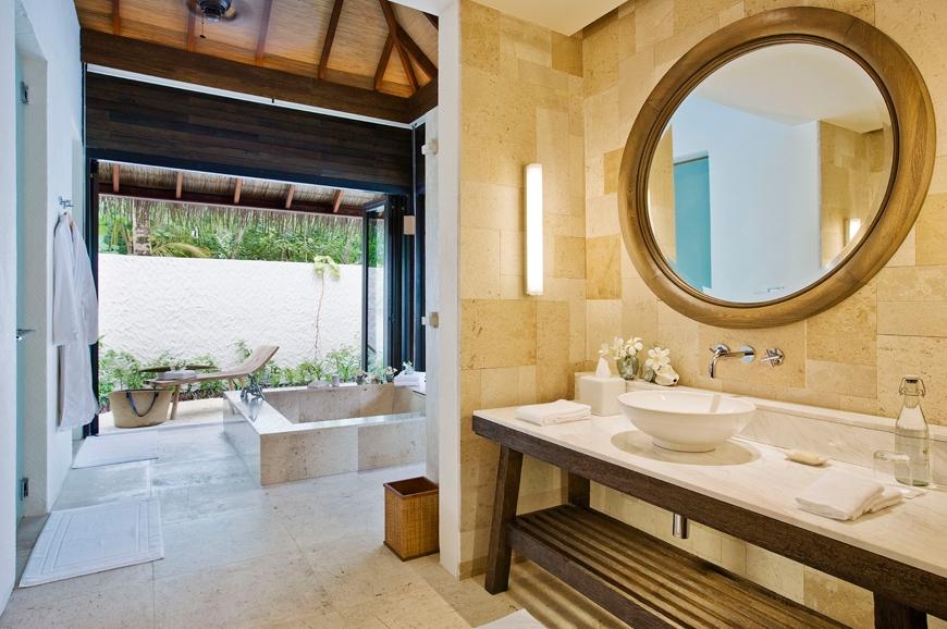 Garden Suite Bathroom. TravelPlusStyle.com