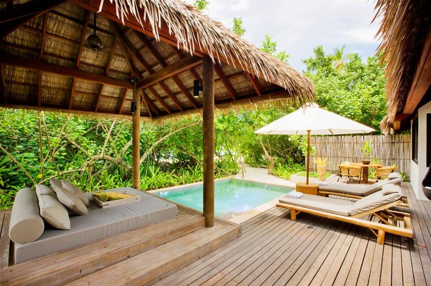 Garden Suite Outdoor Pool. TravelPlusStyle.com