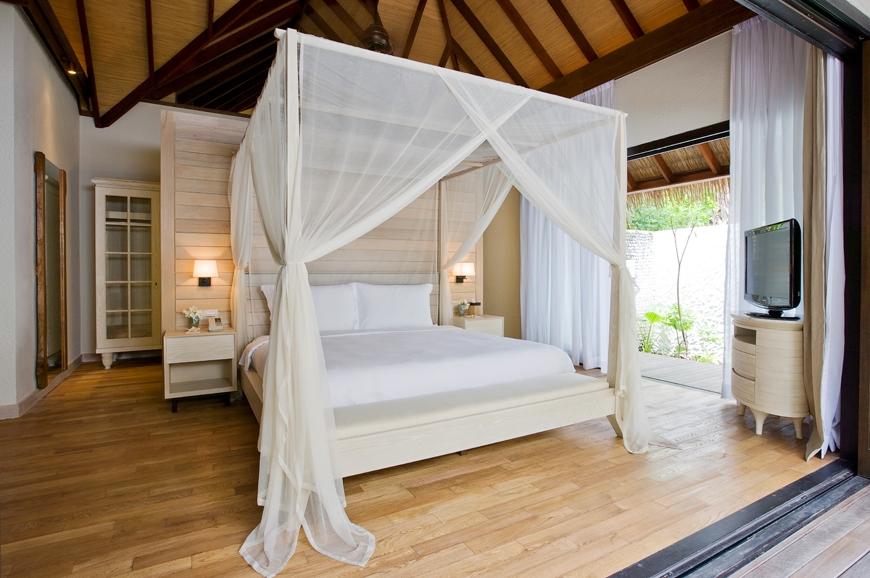 Garden Suite bedroom. TravelPlusStyle.com