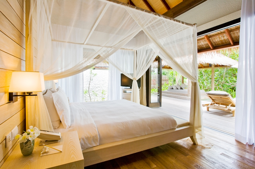 Garden Suite, bedroom view. TravelPlusStyle.com