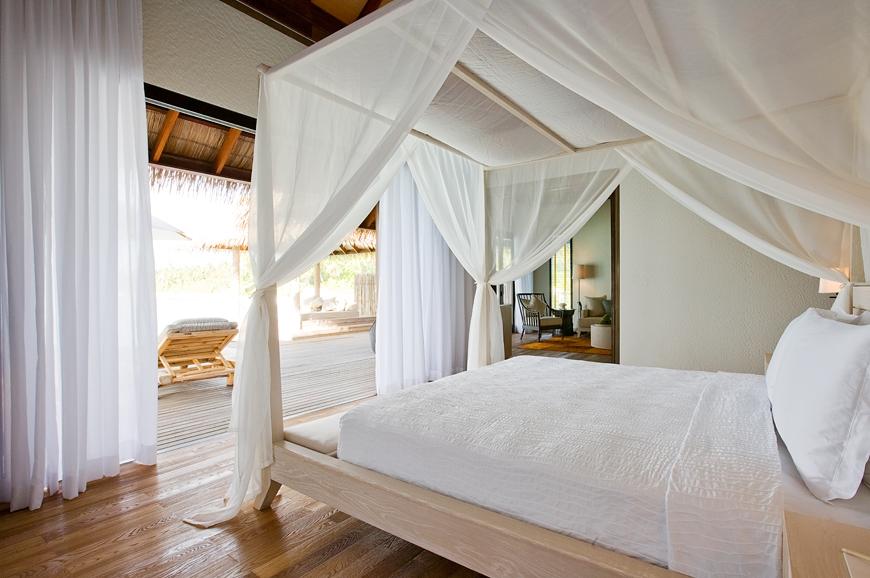 Garden Villa bedroom. TravelPlusStyle.com