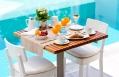 Breakfast. Mykonos Grace Hotel. © Grace Hotels Limited