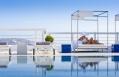 Poolside sunlounger. Mykonos Grace Hotel. © Grace Hotels Limited